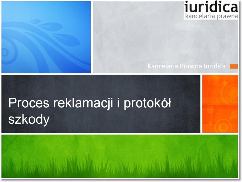 prezentacja iuridica chwalczuk transport